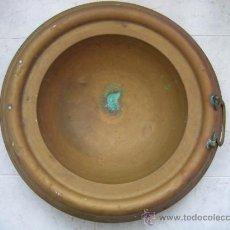 Antigüedades: BRACERO ANTIGUO EN COBRE 47 CM DE DIAMETRO. Lote 36716089