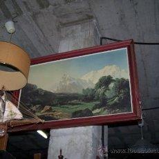 Antigüedades: GRAN CUADRO PAISAJISTA. Lote 36789996