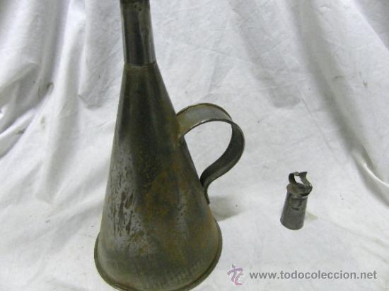 Antigüedades: ACEITERA DE CINZ ANTIGUA - Foto 3 - 36748216