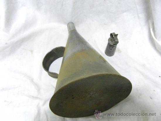 Antigüedades: ACEITERA DE CINZ ANTIGUA - Foto 2 - 36748216