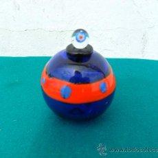 Antiquités: PERFUMERO DE CRISTAL DE MURANO. Lote 36732904