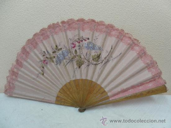 Antigüedades: Abanico, principios Siglo XX. - Foto 2 - 36730589