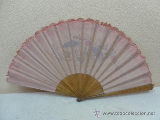 Antigüedades: Abanico, principios Siglo XX. - Foto 9 - 36730589