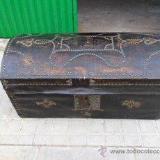 Antigüedades: ARCON DE PEL CON INICIALES. Lote 36740281