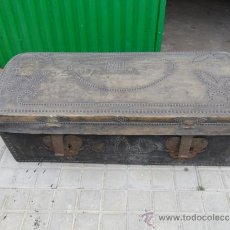 Antigüedades: ARCON DE PEL CON INICIALES. Lote 36740302