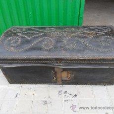 Antigüedades: ARCON DE PEL CON INICIALES. Lote 36740333