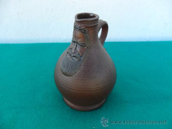JARRON DE BARRO ANTIGUO (Antigüedades - Hogar y Decoración - Jarrones Antiguos)
