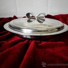 Antigüedades: BANDEJA DE CAVIAR (CON BAÑO DE PLATA). Lote 36759647