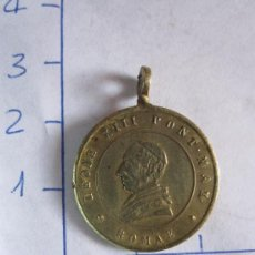 Antigüedades: MEDALLA DEL PAPA LEON XIII. Lote 36765758
