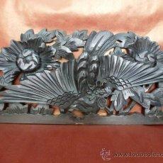 Antigüedades: TALLA JAPONESA EN MADERA. Lote 36789289