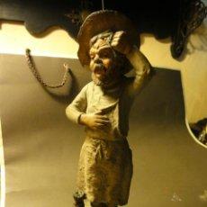 Antigüedades: TERRACOTA BARRENDERO. Lote 36789974