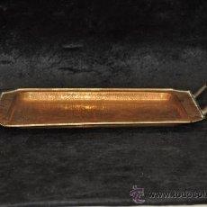 Antigüedades: BANDEJA DE COBRE REPUJADO, AÑOS 60.. Lote 36806802