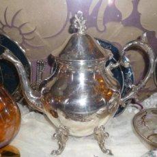 Antigüedades: TETERA PLATEADA. Lote 36813994
