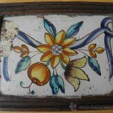 Antigüedades: ANTIGUO AZULEJO VALENCIANO. Lote 36793077
