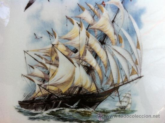 Antigüedades: BANDEJA ANTIGUA DE PORCELANA LIMOGES SELLADA LIMOGES - Foto 2 - 36820996