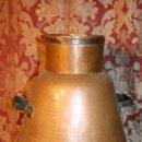 Antigüedades: ANTIGUA OLLA DE COBRE REPICADO EN FORMA DE PERA - FINALES S.XIX - PRINC. S.XX. Lote 36809931