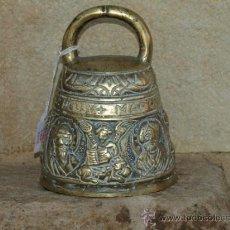 Antigüedades: CAMPANA DE MANO. BRONCE. S XIX. INGLATERRA.. Lote 36817889