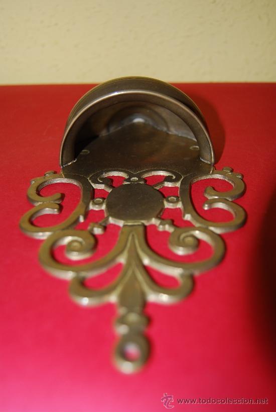 Antigüedades: BENDITERA DE BRONCE - Foto 4 - 36826826