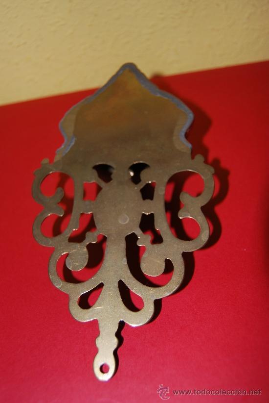 Antigüedades: BENDITERA DE BRONCE - Foto 5 - 36826826