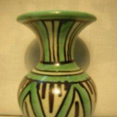 Antigüedades: JARRON PUNTER CERAMICA DE TERUEL. 10CM. Lote 36874587