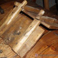 Antigüedades: ANTIGUA SILLA DE CARGA AGUADERAS PARA BURROS. Lote 36877069