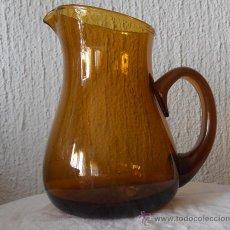 Antigüedades: JARRA COLOR AMBAR, 1250 ML.. Lote 36878412