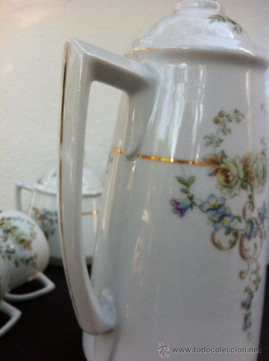 Antigüedades: JUEGO ANTIGUO DE CAFÉ EN PORCELANA SIGLO XIX (1810-30) - Foto 14 - 36916825