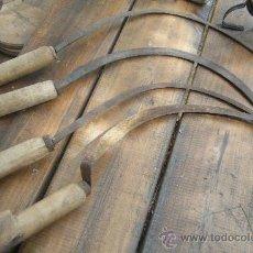 Antigüedades: LOTE AUTENTICAS Y ANTIGUAS HOCES. Lote 36906909