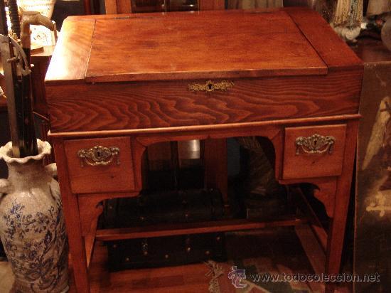 precioso mueble pupitre principios siglo xx - Comprar Escritorios ...
