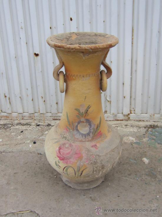 JARRON DE BARRO (Antigüedades - Hogar y Decoración - Jarrones Antiguos)
