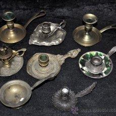 Antigüedades: LOTE DE 8 PALMATORIAS ANTIGUAS, ALGUNAS DE MUY BONITAS.. Lote 36974241