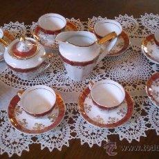 Antigüedades: JUEGO DE CAFÉ 8 PIEZAS. Lote 36958465