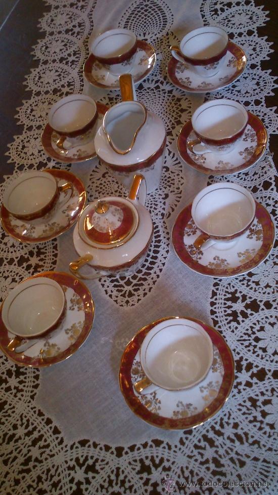 Antigüedades: Juego de café 8 piezas - Foto 2 - 36958465