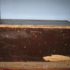 Antigüedades: ARCÓN EN MADERA DE PINO DE PRINCIPIOS DE S. XX, PARA RESTAURAR.. Lote 36983913