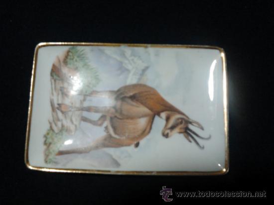 ANTIGUO PLATILLO PORCELANA LIMOGES () (Antigüedades - Porcelana y Cerámica - Francesa - Limoges)