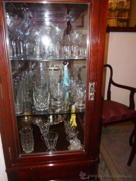 Antigüedades: VITRINA DE CAOBA - Foto 2 - 36990140