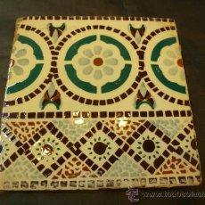Antigüedades: AZULEJO . Lote 37000123