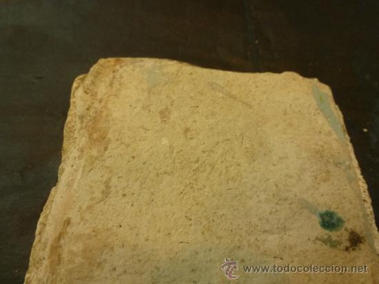 Antigüedades: azulejo de manises azul - Foto 4 - 36999983