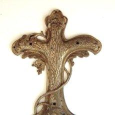 Antigüedades: CASANELLAS -CRUZ DE METAL- REF. 1989. Lote 37056942