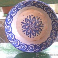 Antigüedades: ANTIGUA FUENTE DE FAJALAUZA, PINTADA A MANO. Lote 37069897