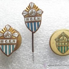 Antigüedades: 3 PINS TERCER CONGRESO EUCARISTICO 1938 - EXCELENTE ESTADO. Lote 37083222