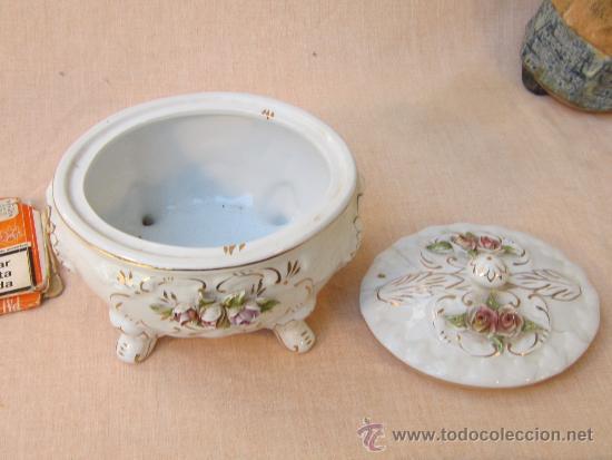 Antigüedades: JOYERO EN PORCELANA - Foto 3 - 37098029