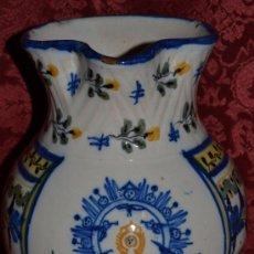 Antigüedades: PRECIOSA JARRA DE TALAVERA,VIRGEN DEL PRADO,S. XIX. Lote 37120357