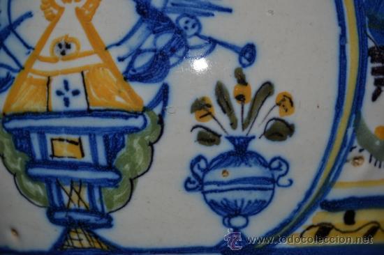 Antigüedades: PRECIOSA JARRA DE TALAVERA,VIRGEN DEL PRADO,S. XIX - Foto 7 - 37120357