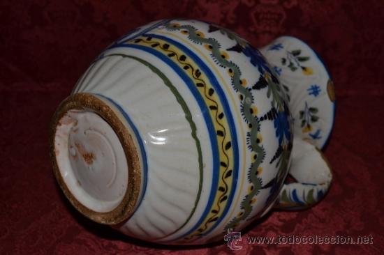 Antigüedades: PRECIOSA JARRA DE TALAVERA,VIRGEN DEL PRADO,S. XIX - Foto 10 - 37120357