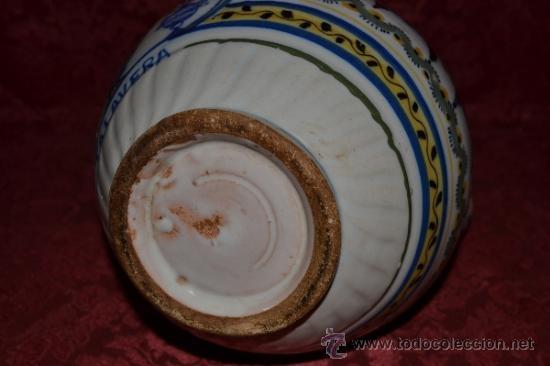 Antigüedades: PRECIOSA JARRA DE TALAVERA,VIRGEN DEL PRADO,S. XIX - Foto 11 - 37120357