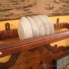Antigüedades: BONITO ESCURREPLATOS RESTAURADO DE MELIS. Lote 37121246