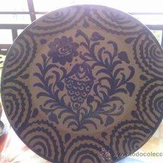 Antigüedades: ANTIGUA FUENTE DE FAJALAUAZA , PINTADA A MANO.. Lote 37180012