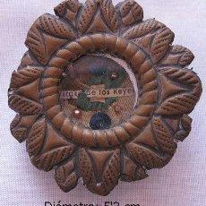 Antigüedades: RELICARIO ANTIGUO VIRGEN DE LOS REYES SEVILLA. Lote 37205401