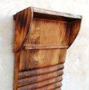Antigüedades: TABLA DE LAVAR MADERA, ESTREGADERA RUSTICA ,, HOG365. Lote 158244248